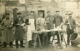 MILITARIA ALLEMAND A Localiser Militaires Cuisinier Cachet KEHL 1914 - Guerre 1914-18