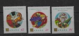 Serie De Canadá Nº Yvert 1289a/91a ** - 1952-.... Reinado De Elizabeth II