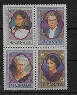 Serie De Canadá Nº Yvert 1300/03 ** - 1952-.... Reinado De Elizabeth II