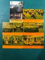 MACAU-CTM  1989\90 GRAND PRIX MACAU PHONE CARDS SET OF 6 ALL FINE USED - Macau