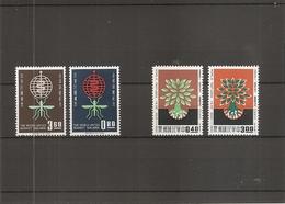 Taiwan -Formose ( 401/402 + 318/319 XXX -MNH) - 1945-... République De Chine
