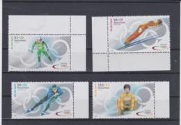 Germany 2002 Salt Lake City Olympic Games 4 Stamps MNH/** (H56) - Winter 2002: Salt Lake City