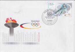 Germany Postal Stationary 2002 Salt Lake City Olympic Games Used W/FDC Cancel From Berlin (G46-77) - Winter 2002: Salt Lake City