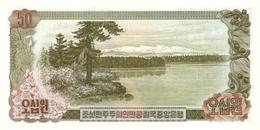 KOREA P. 21a 50 W 1978 UNC - Korea (Nord-)