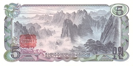 KOREA P. 19c 5 W 1978 UNC - Corea Del Nord