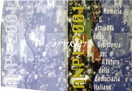 """TESSERA_TESSERE_DOCUMENTO/I-""""ANPI 2001"""" ORIGINALE 100%- - Vecchi Documenti"""