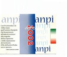 """TESSERA_TESSERE_DOCUMENTO/I-""""ANPI 2002"""" ORIGINALE 100%- - Vecchi Documenti"""