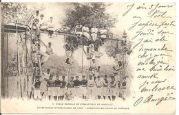 1900 Jeux Olympiques  Paris :équipe De Joinville ;Concours International De Gymnastique - Summer 1900: Paris