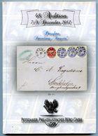 "48. Auktion Potsdamer Philatelistisches Büro -  ""Preußen Sammlung ""Augusta"" Gebundener Luxuskatalog - Catalogues De Maisons De Vente"