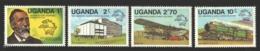 Ouganda - Uganda 1981 Yvert 254-57, Heinrich Von Stephan, Founder Of UPU - MNH - Uganda (1962-...)