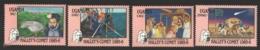 Ouganda - Uganda 1986 Yvert 406-09, Halley's Commet - MNH - Uganda (1962-...)