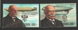 Ouganda - Uganda 1992 Yvert 958-59, 75th Ann. Death Of Count Ferdinand Von Zeppelin - MNH - Uganda (1962-...)
