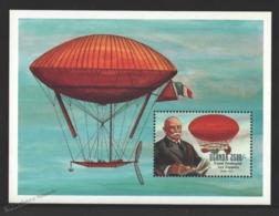 Ouganda - Uganda 1992 Yvert BF 170, 75th Ann. Death Count Von Zeppelin - Miniature Sheet - MNH - Uganda (1962-...)