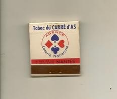 Pochette Allumettes LASTAR De 1955 Neuve Et Pleine:Tabac Du CARRE D'AS à Nantes - Boites D'allumettes