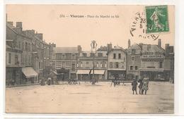 Vierzon - Place Du Marché Au Blé - CPA° - Vierzon