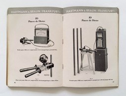 Catalogue Hartmann & Braun 1928. - Frankfurt-am-Main - Bricolage / Technique