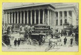 * Paris - Parijs (Dép 75 - Capital De La France) * (LL, Nr 566) La Nouvelle Bourse, Stock Exchange, Tram à Cheval, TOP - France
