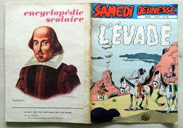 SAMEDI JEUNESSE - N° 189 - L'Evadé Par DELABIE - Shakespeare -  Juillet 1973 - Samedi Jeunesse