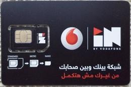 "MINT GSM SIM Card  Vodafone ""IN""  (Egypte) (Egitto) (Ägypten) (Egipto) (Egypten) Africa - Egypte"