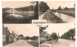 Torteron - Multivues - CPSM° - Autres Communes