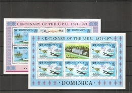 UPU ( 409/410 De Dominique En Feuilles XXX -MNH) - U.P.U.