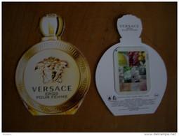 Carte Versace Eros Pour Femme A/patch - Modernas (desde 1961)