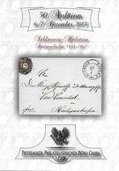 "50. Potsdamer Philatelistisches Büro Dezember 2013 - Sonderkatalog ""Schleswig-Holstein Postgeschichte 1848-1867"" - Catalogues De Maisons De Vente"