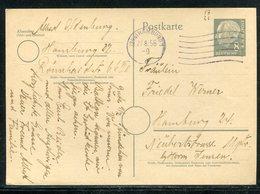 Bundesrepublik Deutschland / 1956 / Postkarte Mi. P 25 Masch.-Stempel Hamburg (19636) - BRD