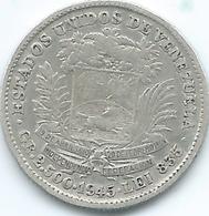 Venezuela - 1945 - ½ Bolívar - KMY21a - Venezuela