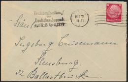 Reich Brief Masch. Stem. Reichsberufswettkampf Deutsche Jugend Kiel N. Flensburg - Germany