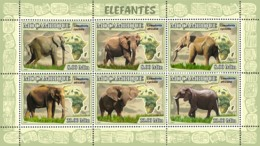 Mozambique 2007 Fauna Elephants - Mozambique