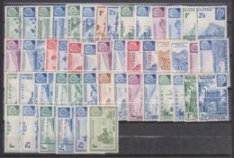Grandes Séries Coloniales - Maréchal Pétain Série Complete - Sans Gomme - Cote 45 Eur - Prix De Départ 10 Eur - 1941 Série Maréchal Pétain