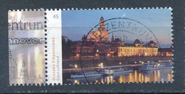 BRD 2014 Dresden 0,45 Euro Li. Rand Gest. Dresden Elbufer Frauenkirche - Kirchen U. Kathedralen