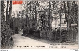 DONJON D'AULNAY LES CHATENAY CURE D'AIR REPOS 1914 TBE - Chatenay Malabry