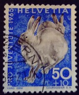 Suisse 1965 Animal Lapin Rabbit Yvert 563 O Used - Gebraucht