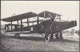 Handley Page Type O Biplane Bomber, C.1910s - Reproduction Photograph - Aviation
