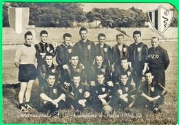 INTER. INTERNAZIONALE. 1952 - 1953. Suqdra. Calcio.  887 - Soccer