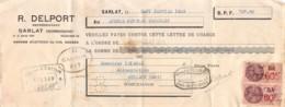 13   -0383   1939  R. DELPORT A SARLAT - M. ISIDORE A GOURDON-13   0383 - Lettres De Change
