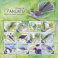 Vanuatu 2012 Sheet Birds MNH - Birds