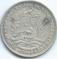 Venezuela - 1 Bolívar - 1945 - KMY22a - Venezuela