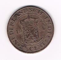 //   INDONESIE  2 1/2  CENTS 1914 - Indonesia