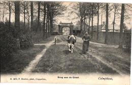 19061 Postkaart Kalmphout Calmphout  Brug Aan De Dreef C1906 Uitg.F.Hoelen - Kalmthout