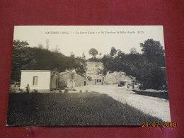 """CPA - Baudres - """"La Source Lucia"""" Et Les Carrières De Silice Fossile - France"""