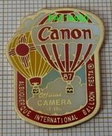 MONTGOLFIERE CANON ALBUQUERQUE INTERNATIONAL BALLOON FIESTA 87 En Version EPOXY - Fesselballons