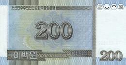 KOREA P. 54 200 W 2007 UNC - Korea (Nord-)