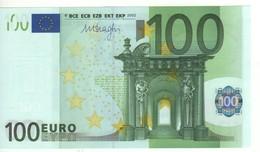 "100 EURO  ""V""   SPAIN    Firma DRAGHI   M 005 E3   /   FDS - UNC - 100 Euro"