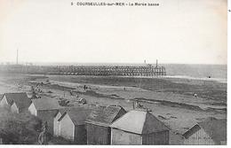 COURSEULLES-SUR-MER  - ( 14 ) - La Marée Basse - Courseulles-sur-Mer