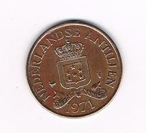 //  NEDERLANDSE ANTILLEN  2  1/2 CENTS  1971 - Antille Olandesi