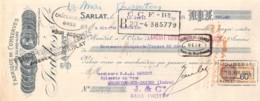 13   -1281    1931    FABRIQUE DE CONSERVES JOUBES & CIE A SARLAT - M. GOBERT A ARGENTON SUR CREUSE-13   1281 - Lettres De Change