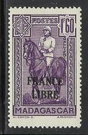MADAGASCAR 1943 YT 250** - SANS CHARNIERE NI TRACE - Madagascar (1889-1960)